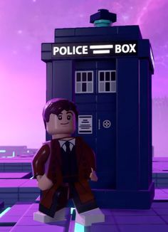 David Tennant Every Doctor as a Lego Character (Lego Dimensions videogame