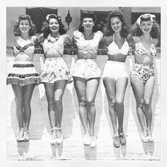 This is too cute  vintage  1940s  bikini