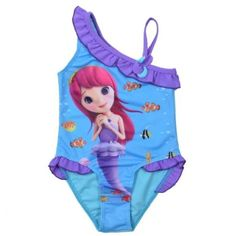 c7945efd71 2017 Children Summer Swimming one Piece Baby Girls Bathing Suit  Mermaid  Printed Swimwear for Kid