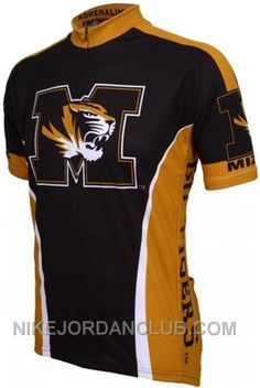 Missouri Tigers Bike Apparel ships Free in the US! University of Missouri  cycling jersey in black   gold is covered with satisfaction guarantee. ad350f93c