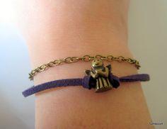 Guardian Angel Bracelet, Catholic Bracelet, Protection Bracelet, Angel Jewelry, Bronze Charm Bracelet, Catholic Jewelry, Meaningful Bracelet