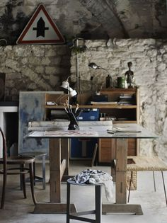 Jacques Bastide's studio; photo by Debi Treloar