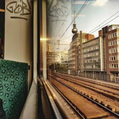 Traveling  #berlin #commuting