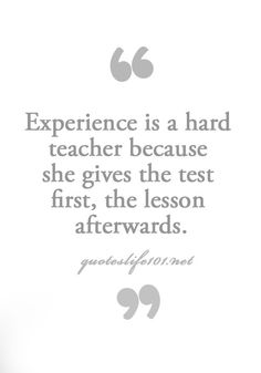 hard test are the worse, but we always seems to get past them, and hopefully with a passing grade.