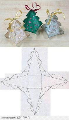 DIY Christmas Tree Box Template DIY Projects   UsefulDI… na Stylowi.pl