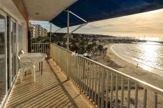 #FerienwohnungArenal - Besonders im Winter ist Arenal eine wunderschöne Urlaubsdestination mit langem Sandstrand, der breiten Promenade und traumhaften Sonnenuntergängen.