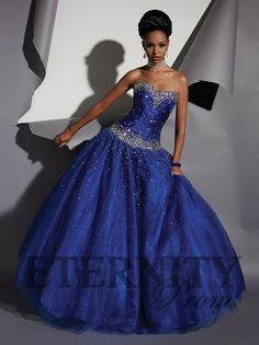 A fabulous full ball gown from Eternity Prom.