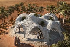 3D Printed Architecture that show why this trend is the future of modern architecture!   Yanko Design Parametric Architecture, Pavilion Architecture, Modern Architecture, Architecture Portfolio, Architecture Diagrams, Parametric Design, Sustainable Architecture, Residential Architecture, Architecture Details