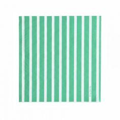 green stripe napkins | luxury tableware | My Little Day