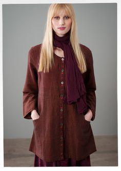 Linen/cotton jacket – All-weather outerwear – GUDRUN SJÖDÉN – INSPIRATION TO SEW!