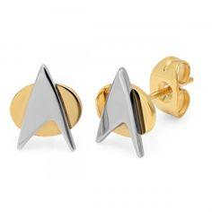 NEW - Star Trek Starfleet Stud Earrings