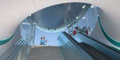 madame mohr's competition entry for vienna's metro U Bahn, Vienna, Competition, Architecture, Bridges, Inspiration, Alice In Wonderland, Arquitetura, Biblical Inspiration