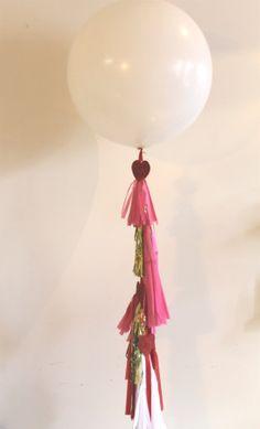 mint love social club: {diy geronimo balloon} tutorial