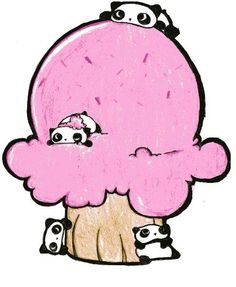Tare Panda Ice-Cream - deviantART: More Like Artistic Tare Panda by ~Keyka