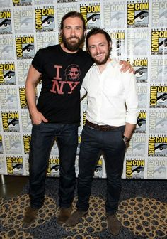 George Blagden and Clive Standen !