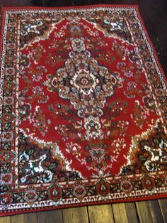 £69.99 NEW TRADITIONAL LARGE RED MEDALLION RUGS 190 x 280cm | eBay
