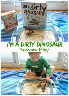 House of Burke: I'm A Dirty Dinosaur Sensory Play