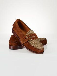Suede-Tweed Edwalton Loafer - Polo Ralph Lauren Dress - -