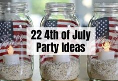 22 Best of July party ideas to start off your celebrations this year! These of July party ideas are really cool, easy and DIY friendly! 100 Life Hacks, Useful Life Hacks, Diy Camping, Camping Meals, Weight Loss Snacks, Weight Watchers Meals, Mason Jar Crafts, Mason Jar Diy, Cork Crafts