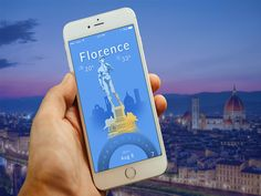 Florence Weather Mobile App UI/UX Concept Design on Behance