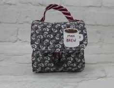 Lug-A-Mug is a mug carrier with a felt-lined mug cosy, built-in mug rug and a nifty pocket for coffee/tea-bags. It makes an ideal gift for a tea…