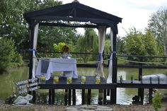 A waterside ceremony