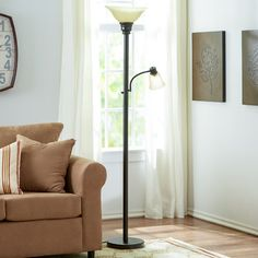 "You'll love the Graham 71"" Torchiere Floor Lamp at Wayfair - Great Deals on all Lighting  products with Free Shipping on most stuff, even the big stuff."