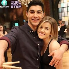 The next step ♡ Best Series, Best Tv Shows, Favorite Tv Shows, Tv Series, Brittany Raymond, Le Studio Next Step, Step Tv, Boy And Girl Best Friends, Disney Shows
