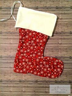 (Fre)eBook, Nikolausstiefel, Crea@Christmas, Weihnachtsdeko, CoelnerLiebe, Weihnachten, nähen, genähtes