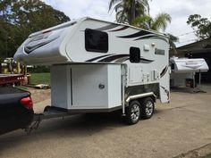 Slide On Camper on trailer Australia Slide On Camper on trailer ...