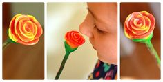 These beeswax rose buds have a sweet smell all their own. To make the modeling beeswax flower, you will need a set of modeling beeswax. Book Crafts, Clay Crafts, Diy Paper, Paper Crafts, Rose Buds, Crafts For Kids, Arts And Crafts, Folk Art, Mother's Day Diy