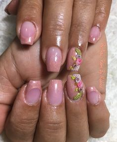 My mom's nails used @tonesproducts collection of metallics for the two tone and my fave cover, Tones pink & 3d nail art #thenailsroom #uñas #uñasacrilicas #uñasdecoradas #diseños3d #nails #nailart #3dnailart #acrylicnails #acrylic #tones #tonesproducts #prettynails #nailprodigy #nailprodigy #nailpro #nailpromagazine #nailpromote #NAILDIT #taperednails #coffinnails #flowernails #shortnails #metallic #girly #pretty #dainty