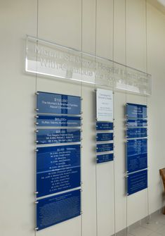 Donor Wall Design Group - Whether you are remodeling your present bathroom or creating a new one for your new home, the bathroom's wall style is an School Signage, Hospital Signage, Signage Board, Donor Wall, Gravure Laser, Hospital Design, Signage Design, Cafe Interior, Wall Design