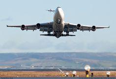 Virgin Atlantic Airways Boeing 747-4Q8 G-VTOP at Manchester