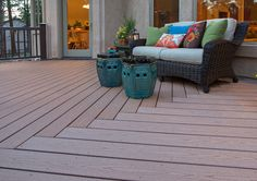 Ideas to transform your backyard into an outdoor living space. From decks to porches to patios, discover design tools, design ideas, a project calculator & more. Timbertech Decking, Wpc Decking, Outdoor Decking, Outdoor Spaces, Outdoor Living, Outdoor Decor, Composite Deck Railing, Wood Composite, Toronto