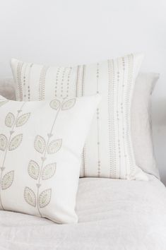 Connect with nature! Add nature's colors to your interior for soothing moments. Artha Collections pillows are an easy way to refresh your interior for Spring.