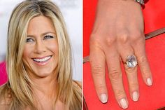 Jennifer Aniston's fiance, actor Justin Theroux, popped the question with a radiant cut, 8-carat diamond.