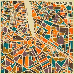 Cities - Jazzberry Blue