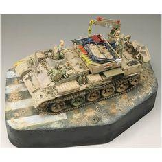 """Bear in the Sand""  BTS-2 1/35 (Unknown Modeler)  1/35  via Pinnacle Scale Model  #scalemodel #plastimodelismo #plastickits #usinadoskits #udk #hobby #modelismo #modelisme #modelism #plasticmodel #plamodel #plastimodelo #passatempo #art #arte #miniatura #miniature #tank #arv #militaria #military #army #exercito #bts2"
