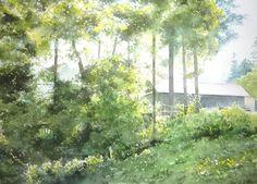 abe toshiyuki watercolor - Tìm với Google
