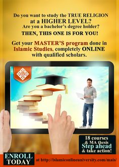 Making The Right Choice: Choosing An Online Education Institution Islamic Online University, Devry University, Master Of Education, Higher Education, Degree Holder, Islamic Studies, Masters Programs, Education And Training, New Career