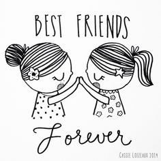 Best Friends Forever Coloring Pages Coloring Pages ...