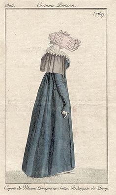 Redingote de drap 1806 Costume parisien