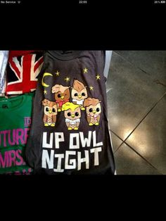 I want this shirt! I saw it in one of Macbarbie07's videos. Does anyone know where I can get it?! Only One Direction Fans will get this