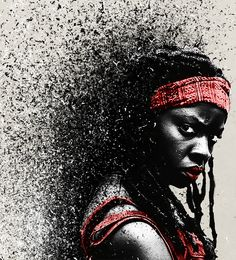 """""""I was just another monster."""" Michonne"""