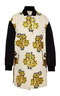 Giorgia Sport Jacket In Floral Jacquard by No. 21 for Preorder on Moda Operandi