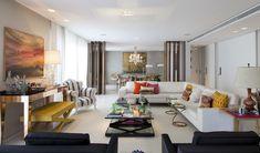 Open house - Helena Lunardelli. Veja: http://www.casadevalentina.com.br/blog/detalhes/open-house--helena-lunardelli-2961 #decor #decoracao #interior #design #casa #home #house #idea #ideia #detalhes #details #openhouse #style #estilo #casadevalentina #livingroom #saladeestar