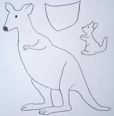 kangaroo quiet book - Google Search