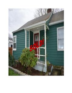 This Charming S.E Portland, OR starter home just SOLD!!  Call 503-256-9723 or visit our Website: peteandersonrealty.com to view our current listings