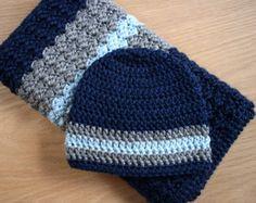 crochet baby boy blanket patterns - Google Search